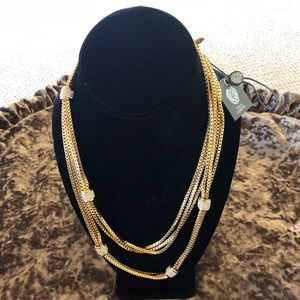 Vince Camuto triple strand necklace